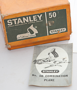 blades for Stanley No.50 Combination Plane